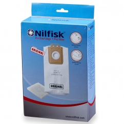 Nilfisk Power en Select Stofzakken