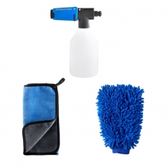 Nilfisk Kit ( towel + washing glove + super foam sprayer)